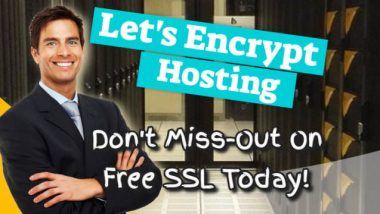 Feature inage for the article about LetsEncrypt Hosting free SSL.