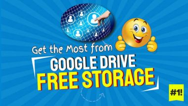 Featured Image Illustrates the article topic of Google Drive free storage.